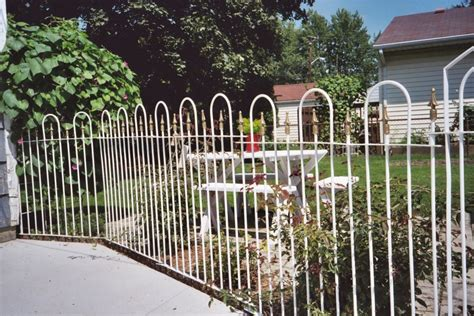 different types of fencing for gardens the different types of decorative garden border fencing