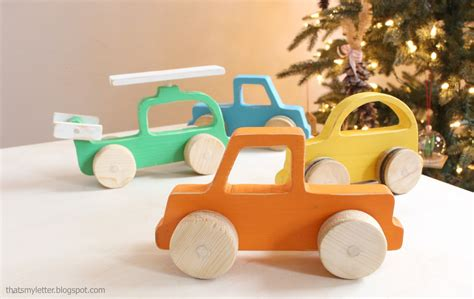 ana white wood push car truck  helicopter toys diy