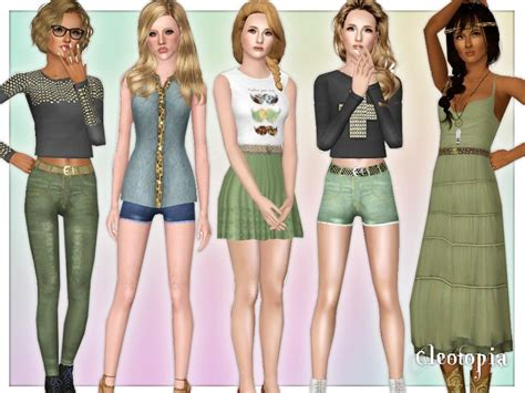 sims 2 clothing the sims resource cleotopia s vintage hipster summer inspired set fixed