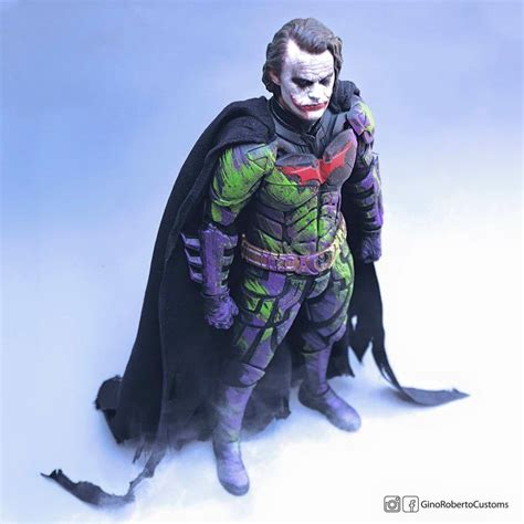 figure joker the rises bat joker custom 1 6 scale