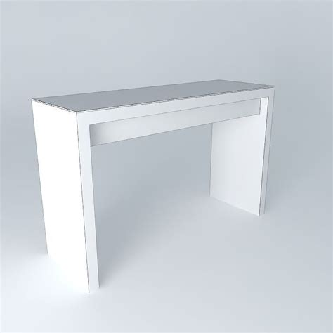 Malm Dressing Table by Malm Dressing Table White Free 3d Model Max Obj 3ds
