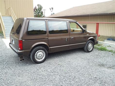 turbo dodge caravan 1989 dodge caravan se turbo 2500 obo turbo dodge