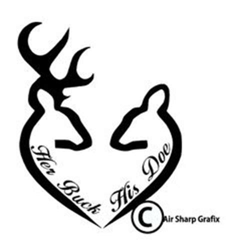 heartbeat tattoo with deer buck and doe drawing browning x3cb x3ebuck x3c b x3e and