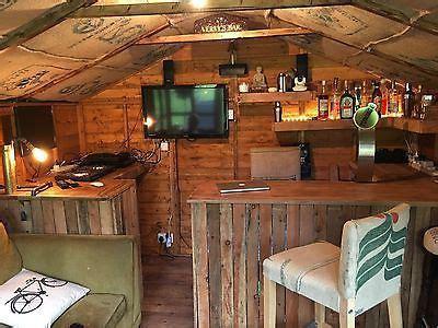 garden bar funky bar counter micro pub man cave summer