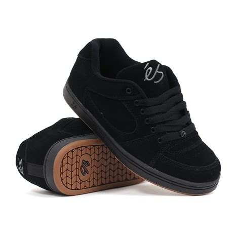 skater shoes for es accel og black s skate shoes