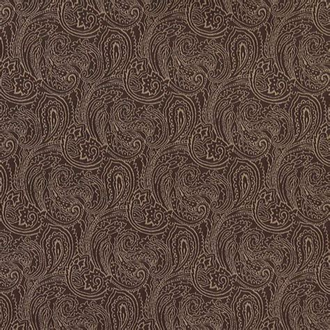 brown paisley upholstery fabric b630 brown traditional paisley jacquard woven upholstery