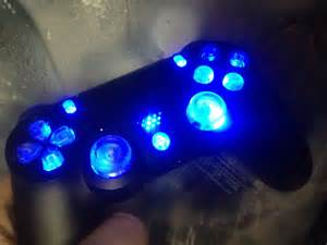 ps4 controller led mod update clear buttons playstation