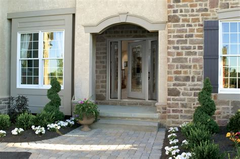 Exterior Home Decor by Front Doors Creative Ideas Fiberglass Front Entry Doors