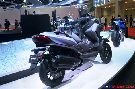 yamaha shows  mw vision concept  tricity