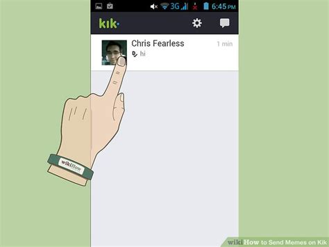 Kik Meme Maker - how to send memes on kik 6 steps with pictures wikihow