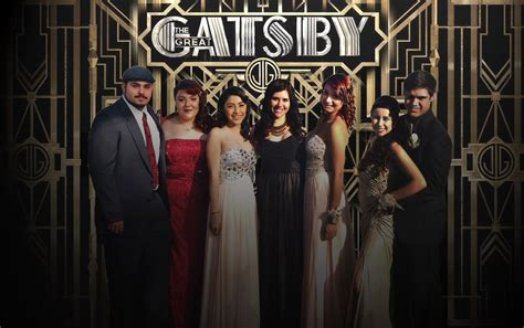 great gatsby themes for prom my daughters senior prom the group picture was in front