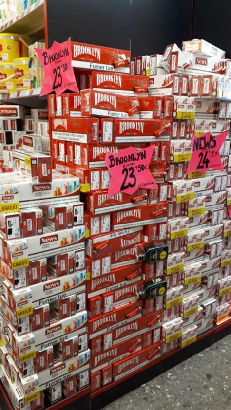 prix des cigarettes quotas en douanes bonnes affaires