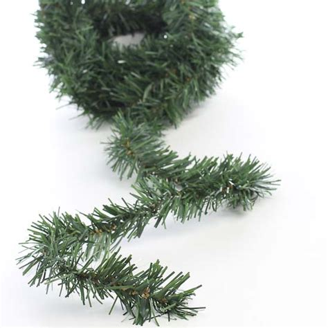 artificial pine wire garland christmas and winter sale