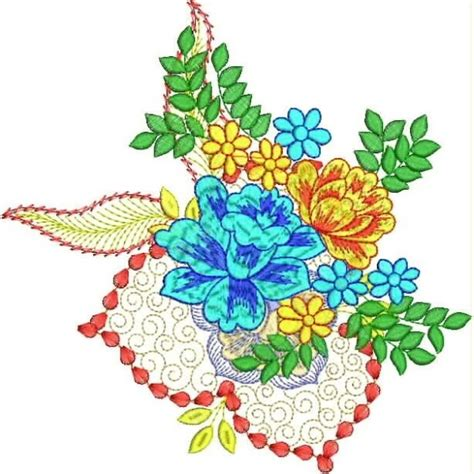 flower pattern embroidery design 35 free hand embroidery flower designs hobby lesson