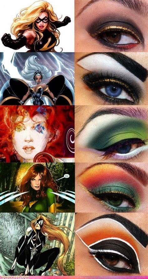 Hair Superhairo 1 35 best makeup hair ideas marvel comics images on artistic make up