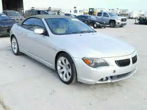 Bmw 645ci Bmw 645ci For Sale In New Orleans La At Copart Auto Auctions