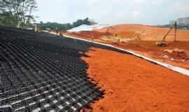 versiweb turf & slope stabilisation, erosion control