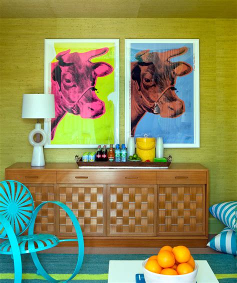 60s decor blast from the past decorating in retro style for spring