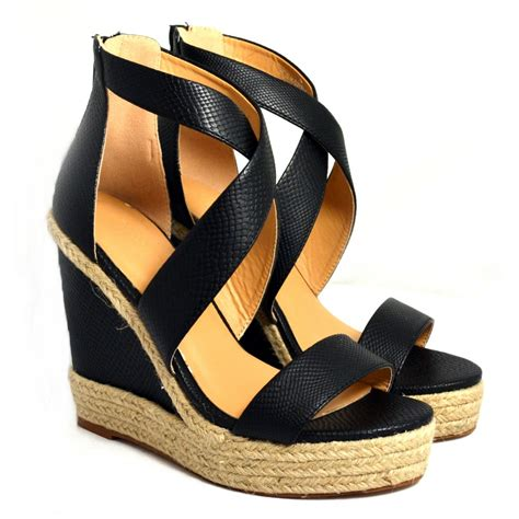 Wedge Sandals sam billie platform wedge sandal black sam