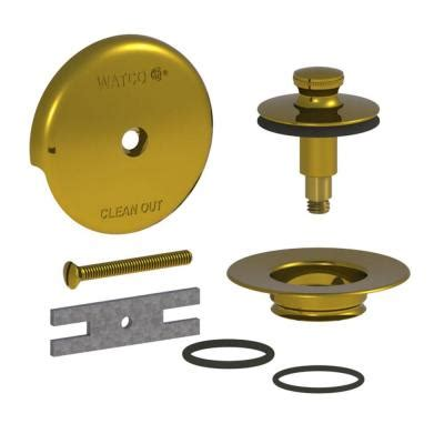 lift and turn bathtub stopper watco quicktrim lift and turn bathtub stopper and 1 hole
