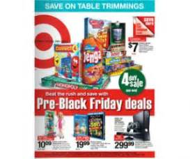 pre thanksgiving day sales target 4 day pre black friday ad with deals unveiled