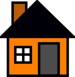 haus clipart orange house clip at clker vector clip