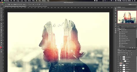 double exposure magic trick tutorial how to make a killer multiple exposure portrait using