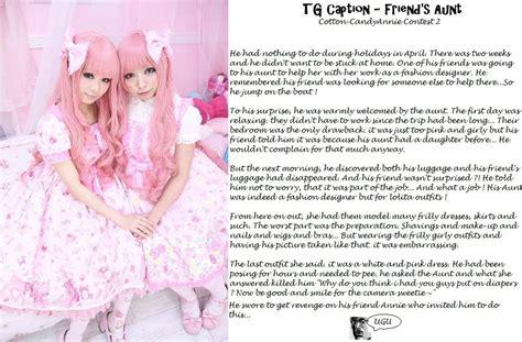 sissy captions aunt tg forced feminization by aunt aunt caption ugu deviant 2