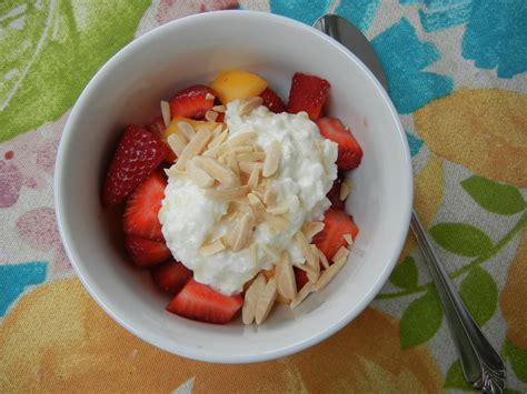 Cottage Cheese With Fruit by Theworldaccordingtoeggface April 2013