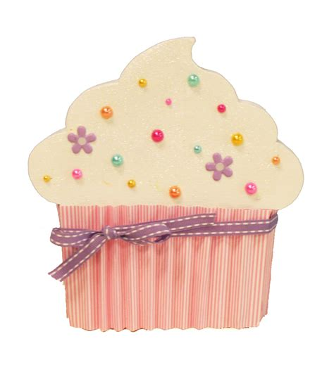 Cupcake Paper Crafts - oh my crafts cupcake wood shape