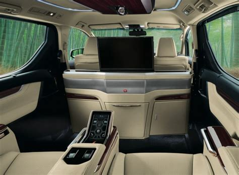 Karpet Alphard 2016 new toyota alphard and vellfire royal lounge variants