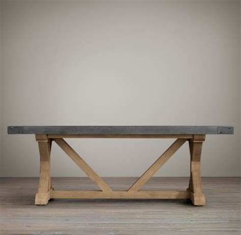 dining table railroad tie dining table