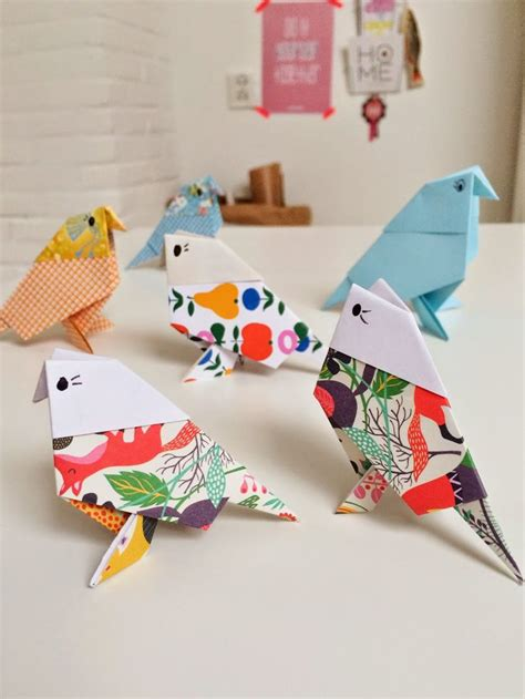 Origami Birds - diy origami birds ideas