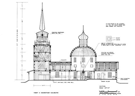 blueprints of buildings habs jubilee january february 2009 library of congress