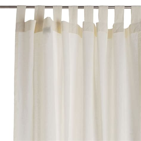 Cuyabeno Linen Curtain Cream