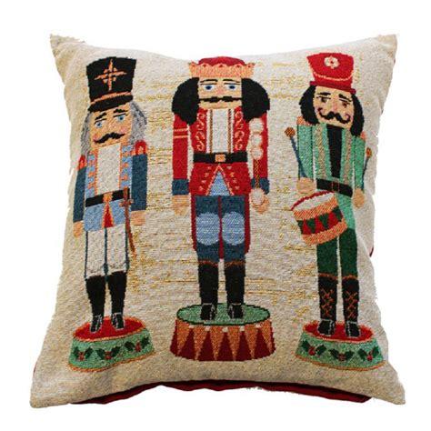 nutcracker festive cushion cover tony s