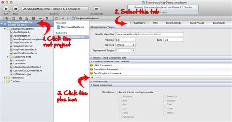 xcode tutorial mapview xcode tutorial practice 3 storyboards mapkit view