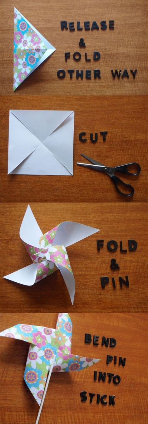 How To Make Paper Pinwheel Decorations - dilly foxtrot investigates new feature diy