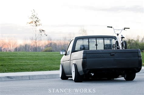 stanced nissan hardbody new member 15x7 or 15x8 page 7 toyota minis
