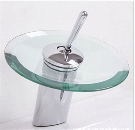 Waterfall Faucet India by Modern Glass Widespread Waterfall Bathroom Faucet Sink