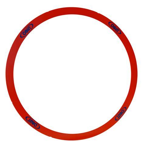 Cetak Stiker Transparant 9 Cm 12 kunststof cirkels rood korting voor de petanque vereniging