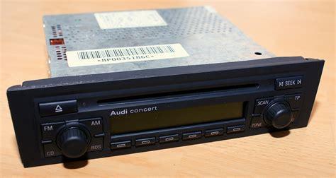 Audi Concert 2 by Audi Concert 2 Mit Codekarte Biete Car Audio