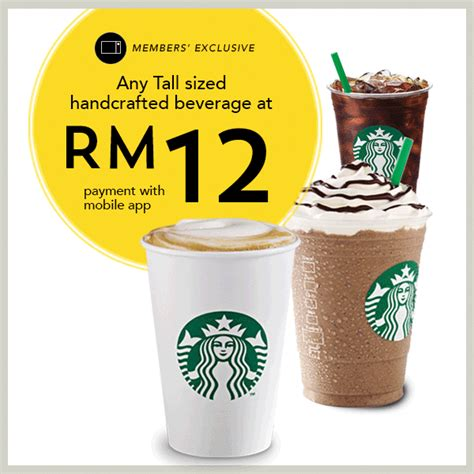 What Is A Handcrafted Drink At Starbucks - starbucks member frappuccino rm12 grande rm13