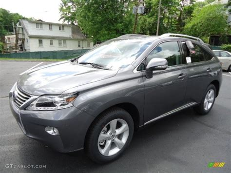gray lexus rx 350 nebula gray pearl 2013 lexus rx 350 awd exterior photo