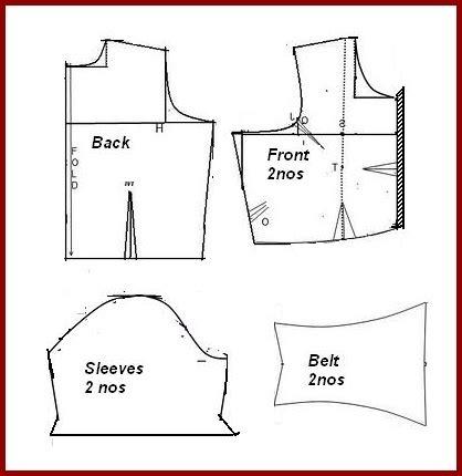 Cutting Of Saree Blouse Stitching by Vani S 1 Method Of Stitching Sari Blouse