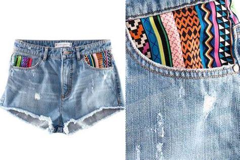cómo decorar tu ropa 35 ideas para renovar ropa pasada de moda reciclar