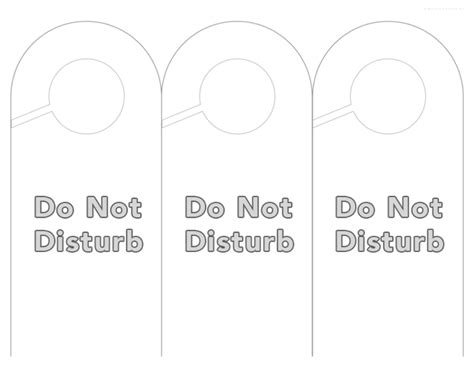 free do not disturb door hanger template education door hanger template free documents