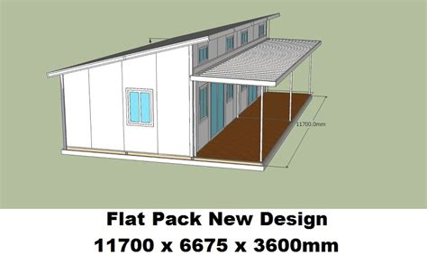 Small Cabin Floor Plan Flat Pack New Design 5 Clevercabins Com Au