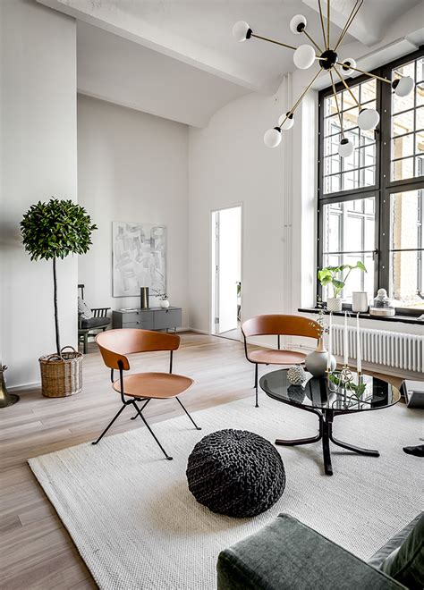 appartment add chic scandinavian apartment in a former brewery digsdigs
