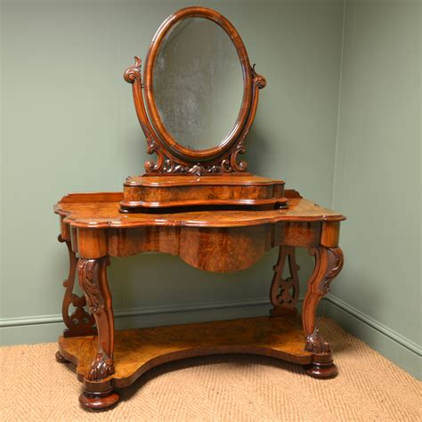 Antique Changing Table Spectacular Golden Walnut Antique Dressing Table Antiques World